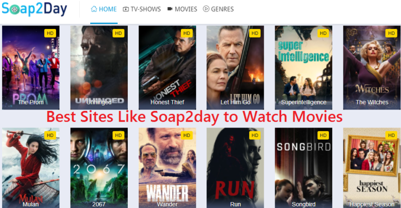 Best Sites like Soap2day to Watch Free Movies Online